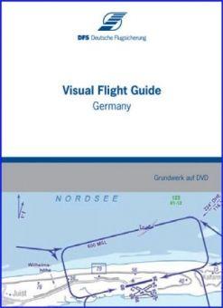 DFS Visual #Flight Guide Deutschland elektr.Version  Der Visual Flight Guide ist eine elektronische Version des Luftfahrthandbuchs AIP VFR Deutschland. Neben zahlreichen Informationen für VFR-Flüge enthält der Visual Flight Guide außerdem Sichtflug- und Flugplatzkarten, Regelungen und ergänzende Daten für Flughäfen und Landeplätze sowie ausgewählte Hubschrauberlandeplätze.