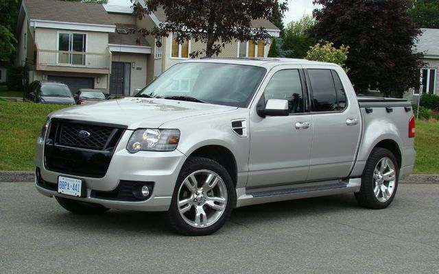 2008 Ford Explorer Sport Trac Adrenalin