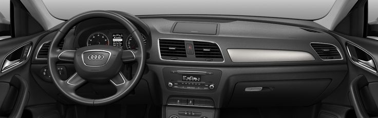 2013 Audi Q3 Crossover, car, wallpaper, dashboard, interior