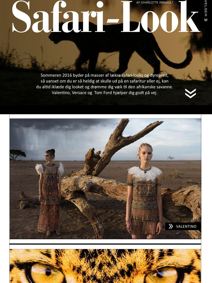 Get the right safari look