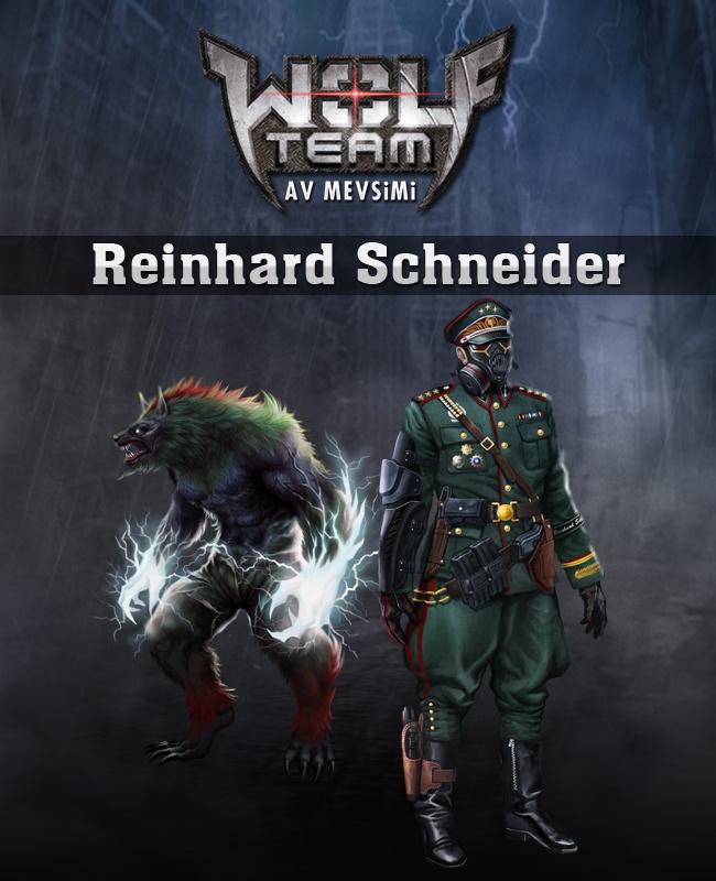 YENİ! Reinhard Schneider Özel Versiyon Karakteri ve Özel Versiyon Kurt'u!