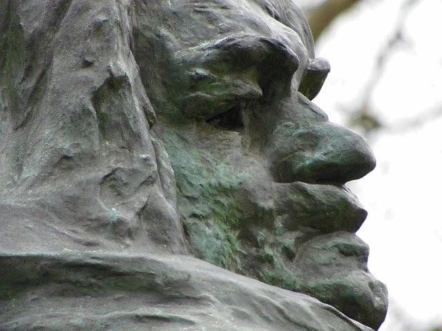 Balzac by Rodin in Paris