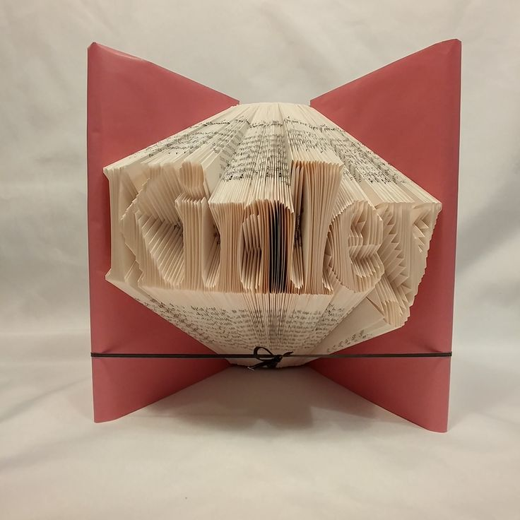 Custom name or word Shadow Book, Folded Book Art by MoonShadowBooks on Etsy