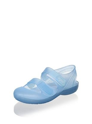 60% OFF igor Kid's Bondi Bump-Toe Jelly (Light Blue)