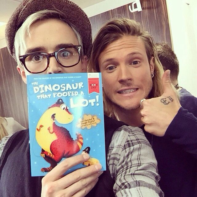 The dinosaur that pooped a lot, Dougie and tom