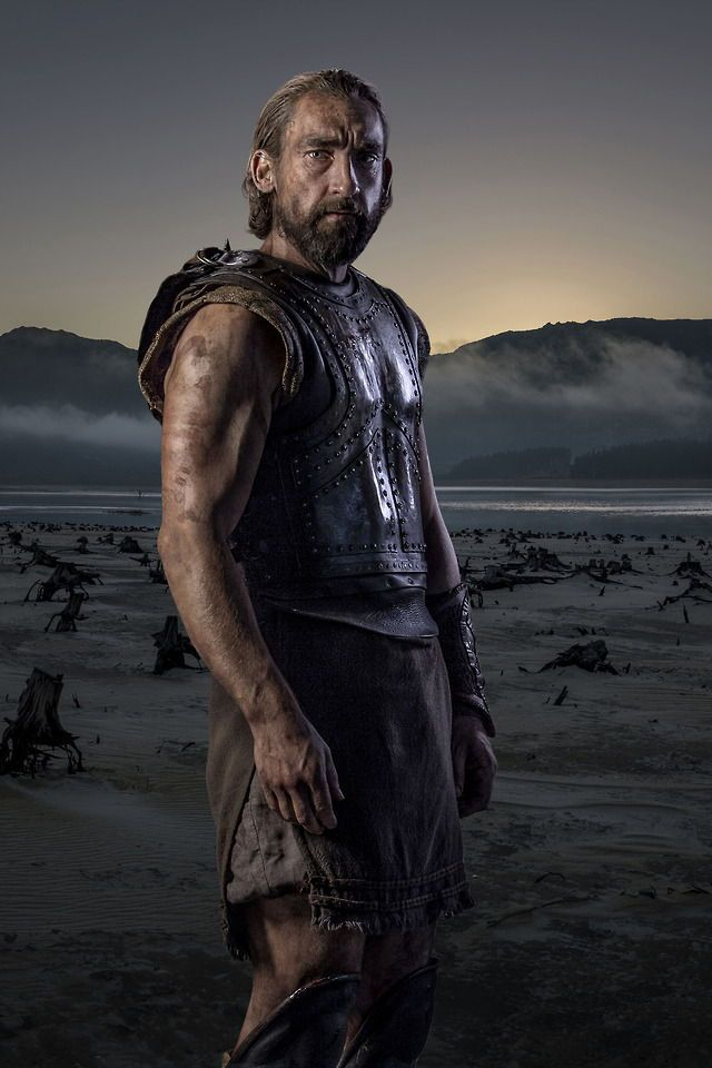 Joseph Mawle plays Odysseus in the new BBC/Netflix Troy: The Fall of