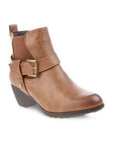 Franco Gemelli Sunshine Ankle Boots Tan