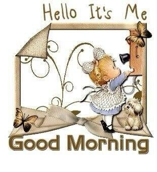 Good morning to you and have a great weekend :D