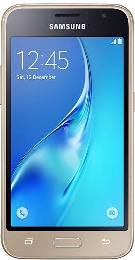 Samsung Galaxy J1 (2016) LTE-Smartphone 11.4 cm (4.49 Zoll) 1.3 GHz Quad Core 8 GB 5 Mio. Pixel Android™ 5.1 Lollipop Gold im Conrad Online Shop