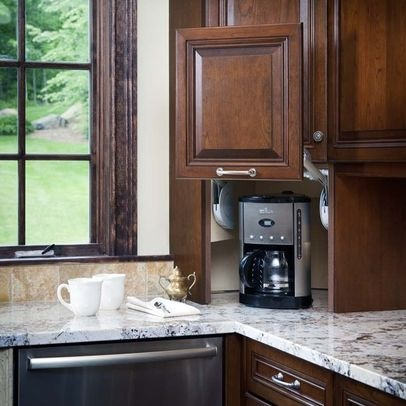 8 best Corner Appliance Garage images on Pinterest | Kitchens ...