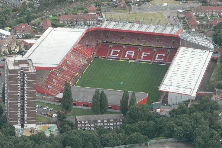 London   The valley stadium