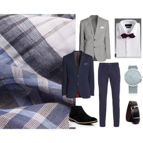 Какого цвета нужно надеть носки под серый пиджак