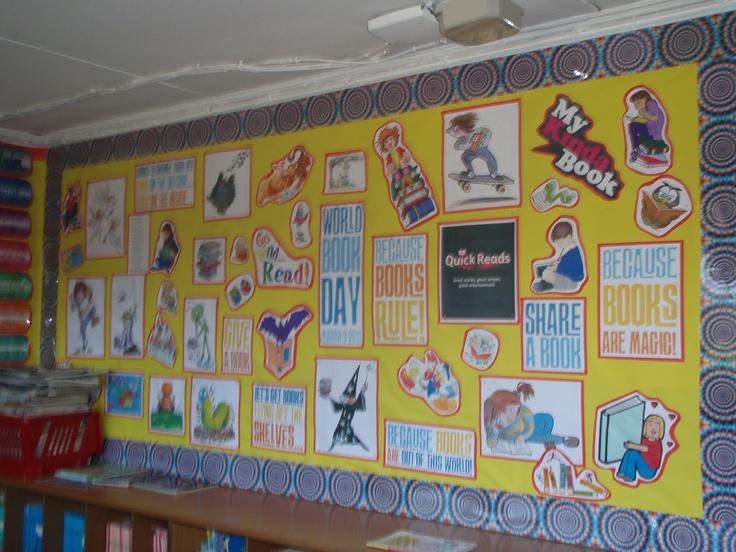 Modern Classroom Display : World book day display my school displays pinterest