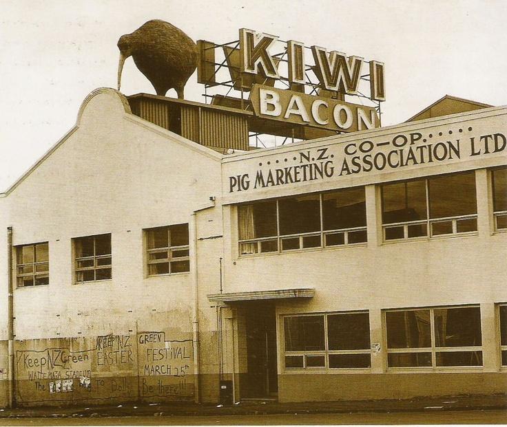 Kiwi Bacon Company, Kingsland, Auckland 1989 ...