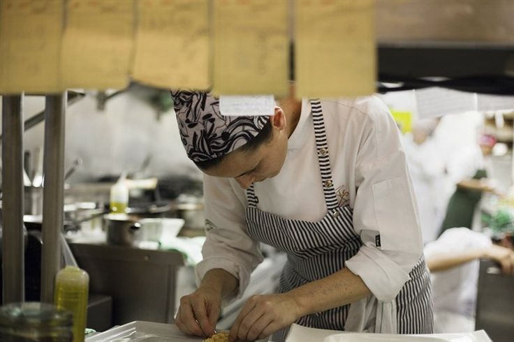 Helena Rizzo at her restaurant, Mani, Sao Paulo, Brazil, on NOWNESS.