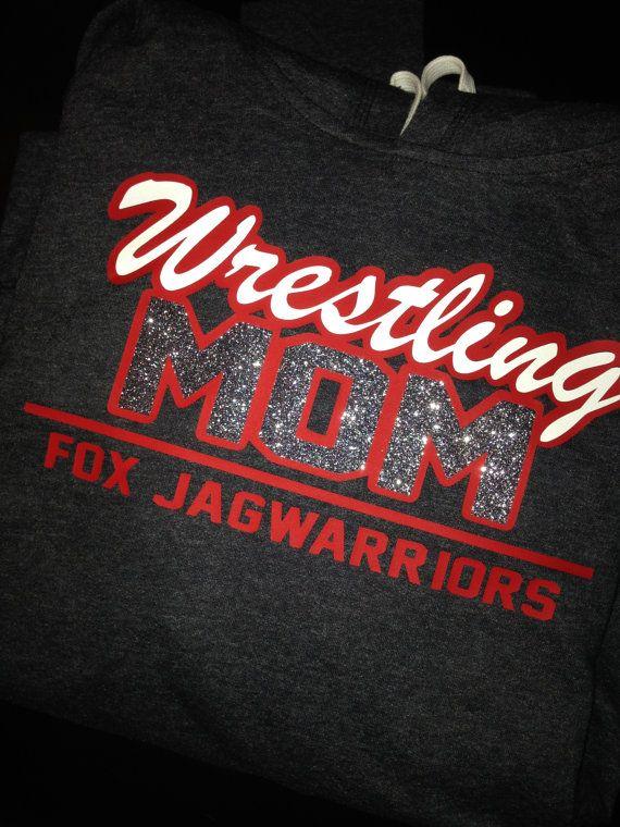 Fox Jagwarriors Wrestling Mom Long Sleeve T-Shirt by Bling1816