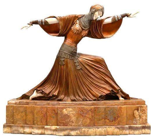 Деметр Чипарус - великий скульптор эпохи Ар-Деко