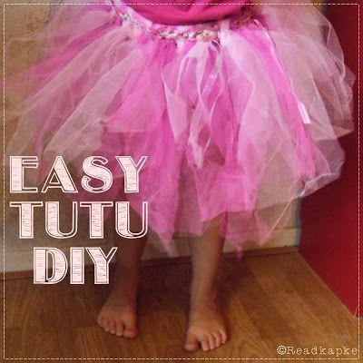 Easy Tutu DIY + tips