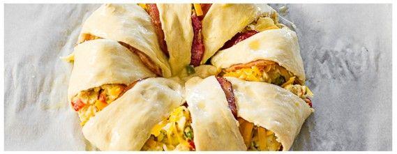 Une présentation originale...L'omelette dans une pâte à croissant - Recettes - Recettes simples et géniales! - Ma Fourchette - Délicieuses recettes de cuisine, astuces culinaires et plus encore!