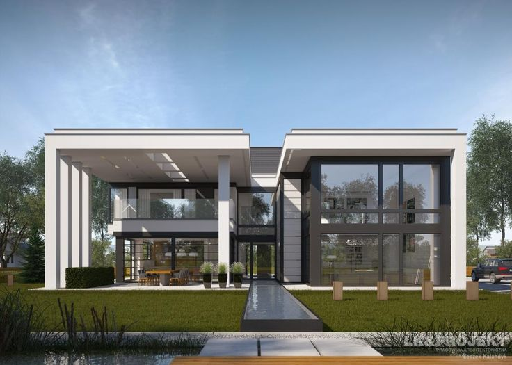 Projekty domów LK&Projekt LK&1274 wizualizacja 3
