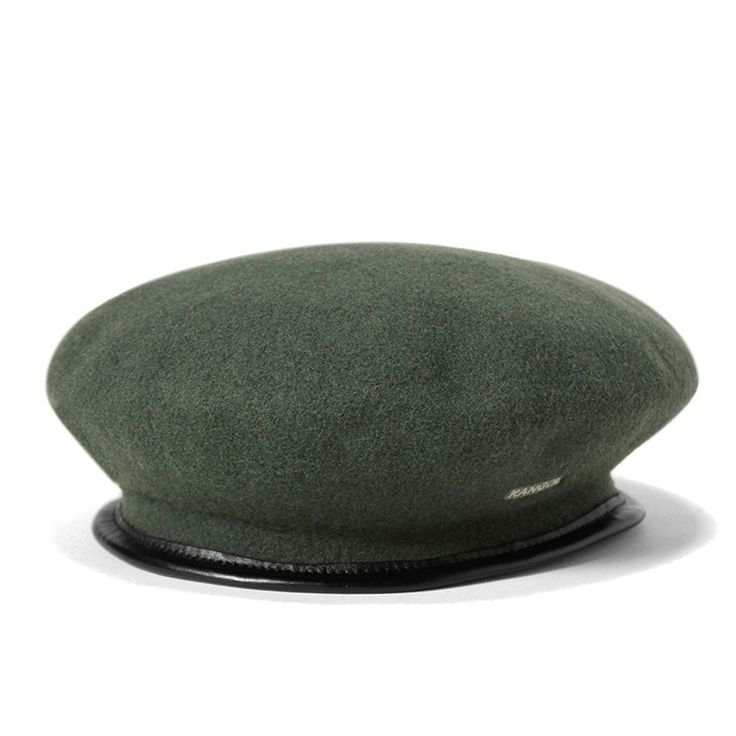 Field Marshal Montgomery for whom the hat is named wore a Kangol® Beret as he commanded Allied troops in World War II. This Kangol® military beret has made a fashionable transition from the battlefield to the streets.