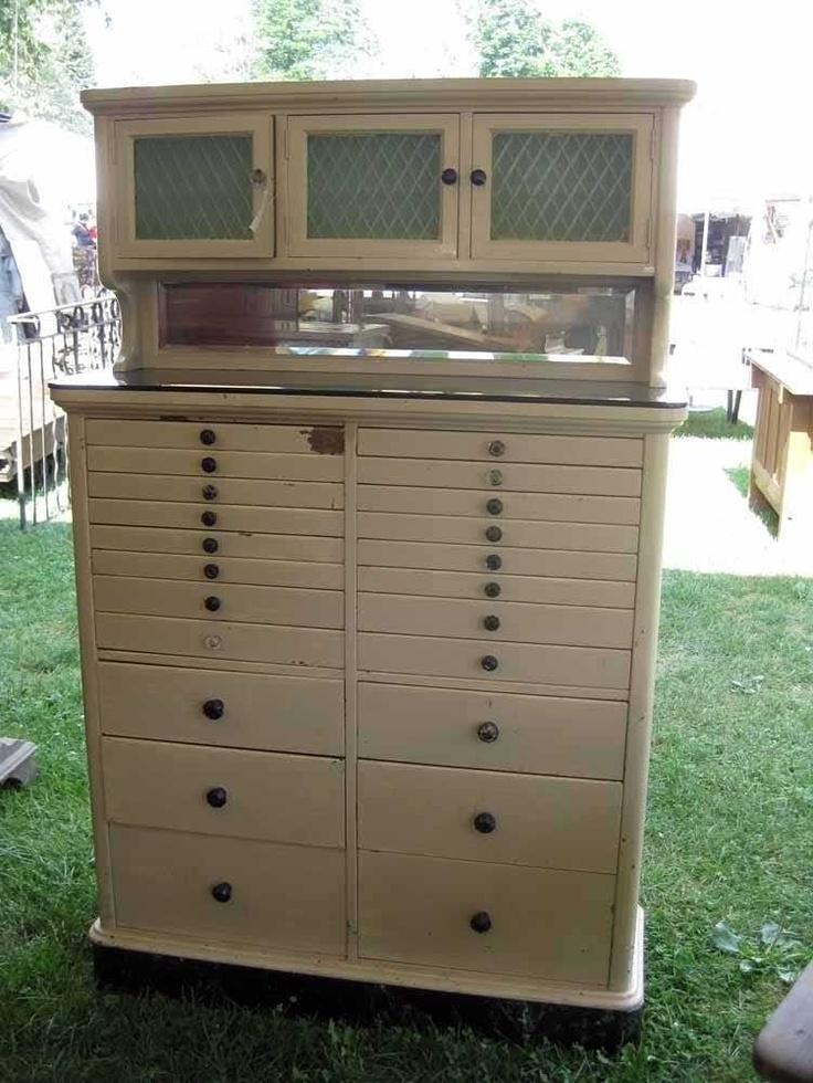 28 best Old Dental Cabinets images on Pinterest | Antique furniture, Dental cabinet and Medical ...