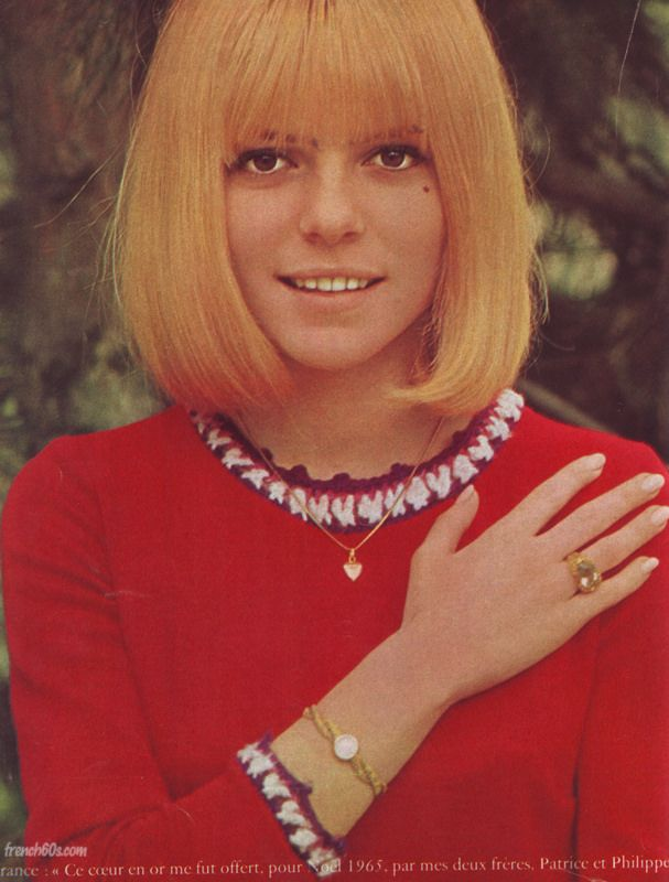 France Gall in Mademoiselle Age Tendre, July 1966 #YéyéGirls #French60s #French60sPop #Yéyé #1960s #FranceGall