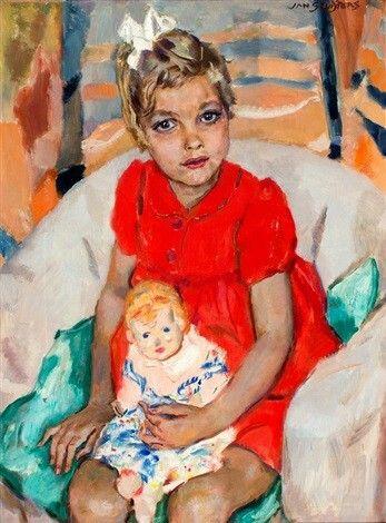 Jan Sluijters - Portret van Margrietje Nolet (Geboren 1940), 1946