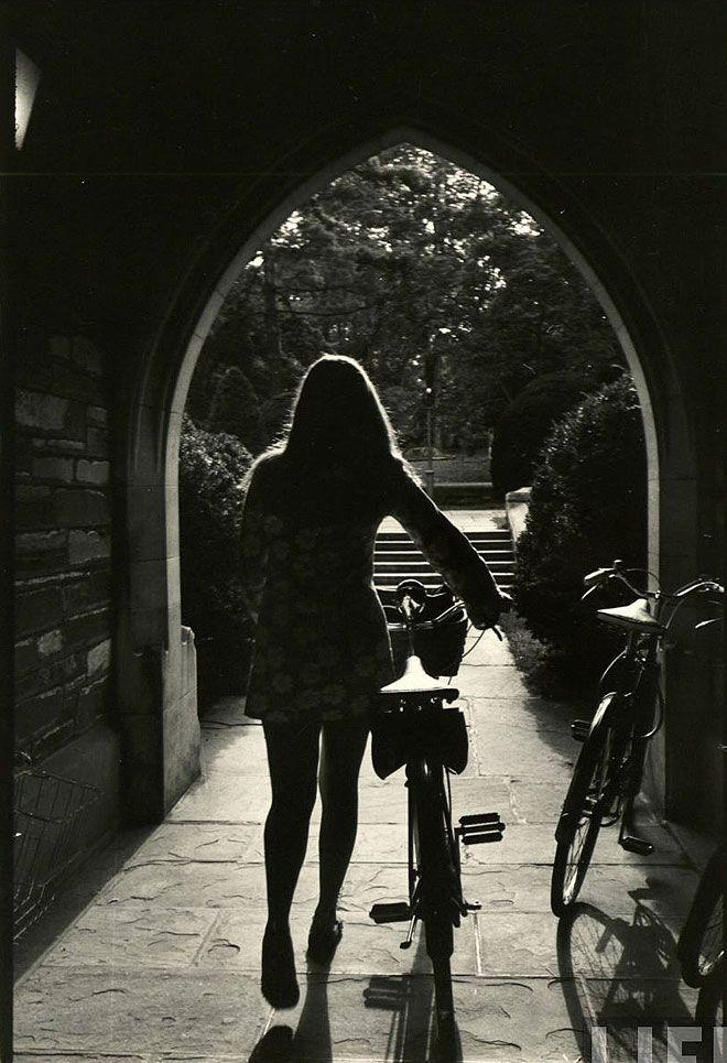 Alfred Eisenstaedt. Princeton 1969