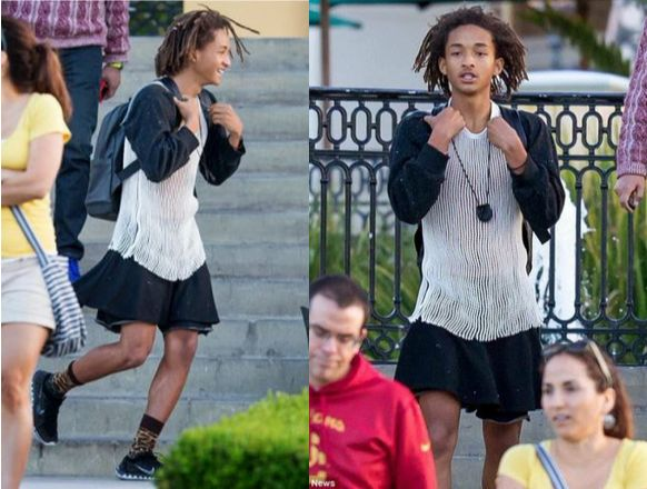 Will Smith's son Jaden steps out in a dress after tweeting that he went shopping for girl clothes - https://www.nollywoodfreaks.com/will-smiths-son-jaden-steps-out-in-a-dress-after-tweeting-that-he-went-shopping-for-girl-clothes/