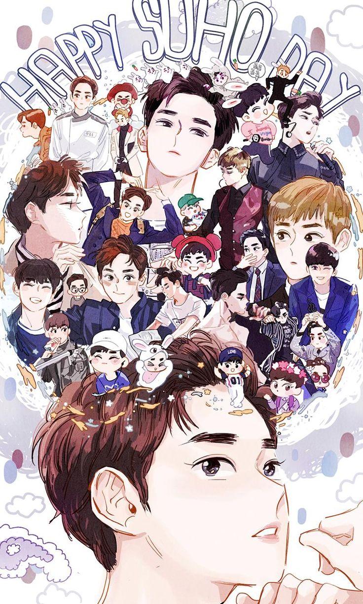 2016 SUHO's birthday  #exo  #suho