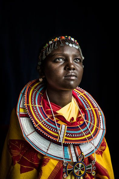 Rose Takaya Nkurumwa, 17, took her bicycle the night before her circumcision and rode 30 miles to meet a pastor who could take her to a safe house. (Meeri Koutaniemi/Echo)
