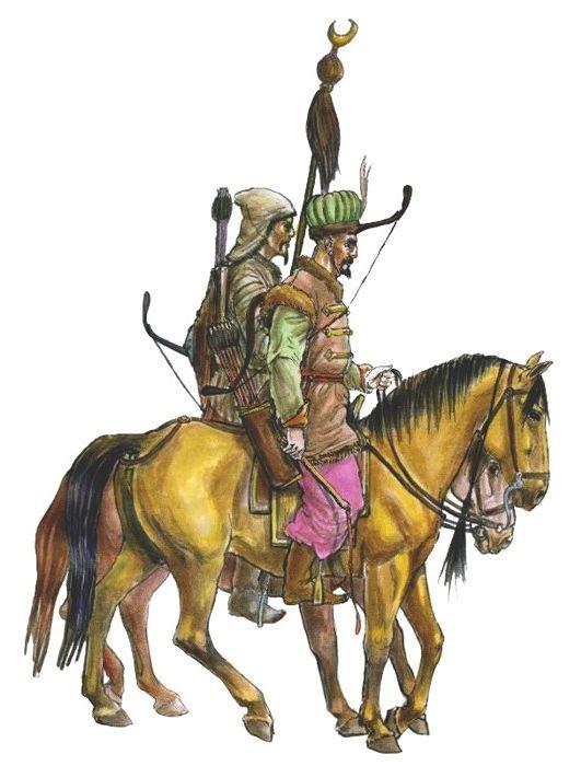 Crimean Tatar cavalry, 17th century