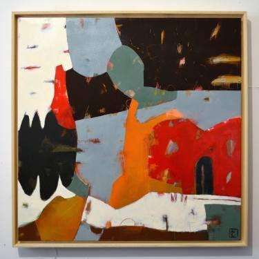 "Saatchi Art Artist Matteo Cassina; Painting, ""A quiet night"" #art"