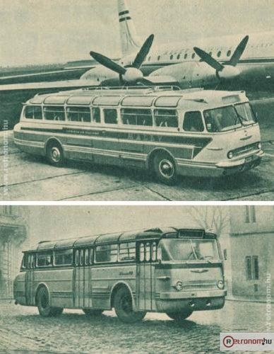 Ikarus 55 66 - Such Icarus buses were here with us, when I was a kid. (60's)