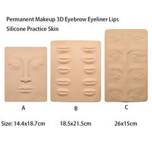 Free shipping 3pcs Permanent Makeup 3D Eyebrow Eyeliner Lips Practice Skin Double Sides Sheet  Fake Skin For tattooing Beginners //Price: $US $13.11 & Up To 18% Cashback //     #steampunktendencies