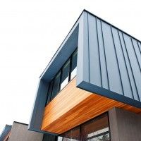 Lovely Roof/ Wall element - creates nice separation & delineation between townhouses.
