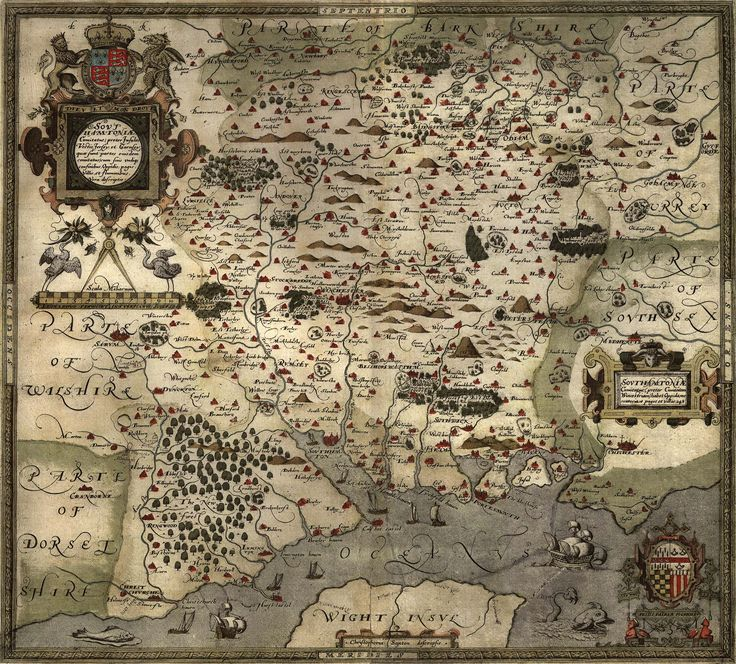 Old English map 221 best Maps images