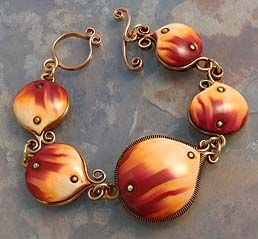 I want to make allllllllllllllll on this page. This woman is amazing !    Desiree's Polymer Clay Gallery #5 - Bracelets