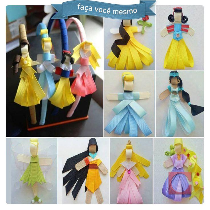 Fitas viram as princesas da Disney!