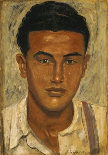 Head of a Youth - Yiannis Tsaroychis