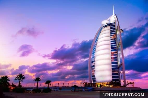Ночь в самом шикарном отеле мира - Бурж-аль-Араб дубай, красивая жизнь, роскошь