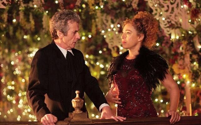 "I hope the Doctor doesn't notice the thing on River's shoulders that looks like a dead raven. Because if he did, he'd be sad. <<-- ksc Or you can see it as River beat/killed took revenge on the Quantum Shade aka ""The Raven"" for him. Remember, Clara asked him not to, but River takes care of things for him☺♥♥"