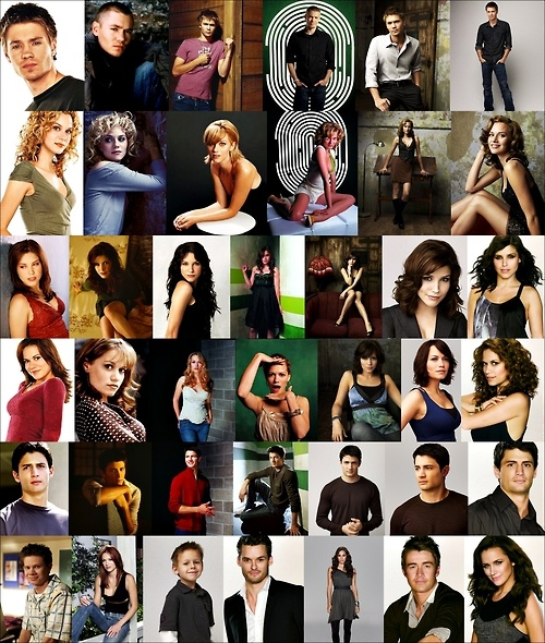 Then & Now One Tree Hill cast