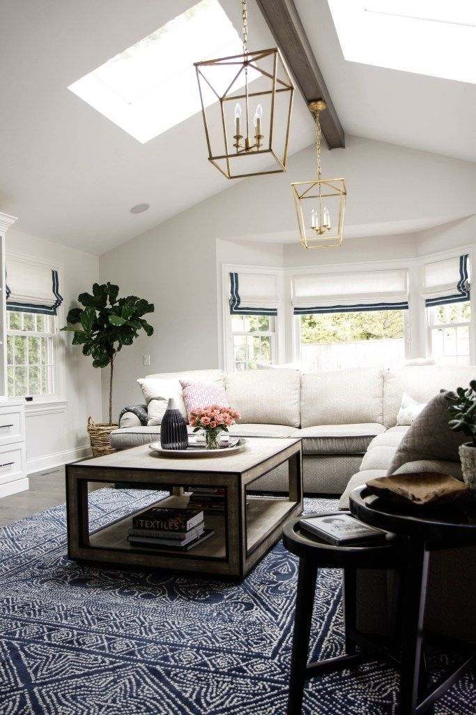 Statement Lighting Lantern Lights Coastal Relaxed Living Room Simple Living Room Shades Remodelling