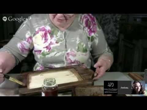 Университет декупажа Любовь Митрофанова Третий день - YouTube