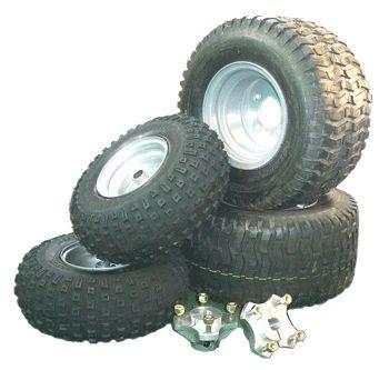 Wheels & Tyres - WASP Karts - go kart plans , go kart kits , go kart parts