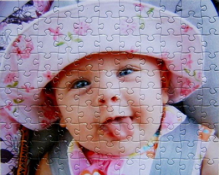 Cheap Custom Puzzle Gift with 60 Pieces! 8 x 10 inch Puzzle