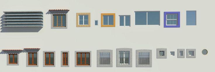 Revit Families for Architecture: Windows