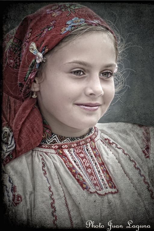 Young Romanian By: Juan Laguna <3 What a beautiful child :D<3